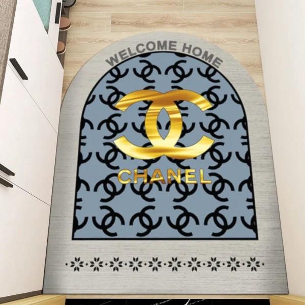ディオール dior カーペット高級 ブランド グッチ 玄関マット ルイヴィトン ドアマット セリモチ型 贅沢 シャネル シャワーマット エルメス 屋外マット 洗える 絨毯 ホーム用