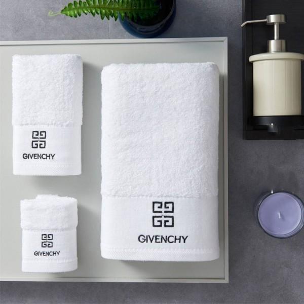 ブランドタオル  シャネル バスタオル フェイスハンドタオル エルメス バーバリーディオール 大判 Vercase Dior Givenchy Chrome Hearts  3枚セットタオル 無地 ホワイト 刺繍ログ towel 綿100% ホテル仕様 超吸水 高級日用品